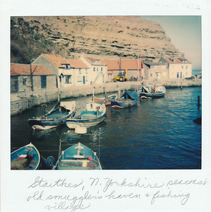 An old smugglers' haven and fishing village along the North Sea