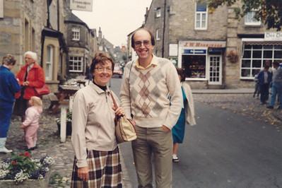 With David in Bolton Abbey, Grassington