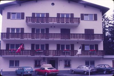 Lenzerheide, Switzerland, where we stayed overnight