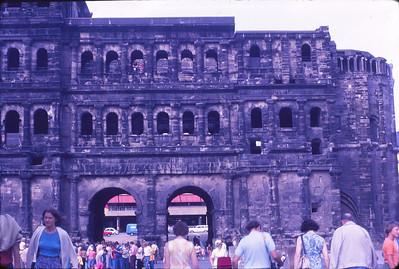 Trier, an old Roman city, Black Gate