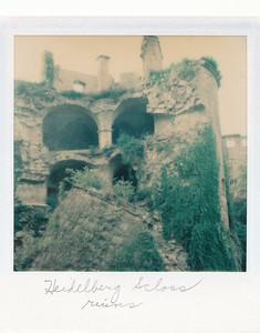 Ruins at Heidelberg Schloss
