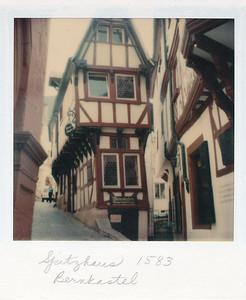 Spitzhaus, built in 1583