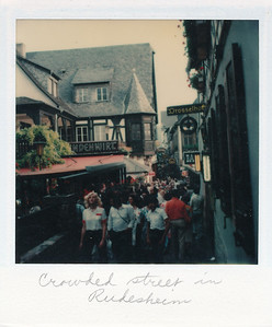 Another crowded street in Rudesheim