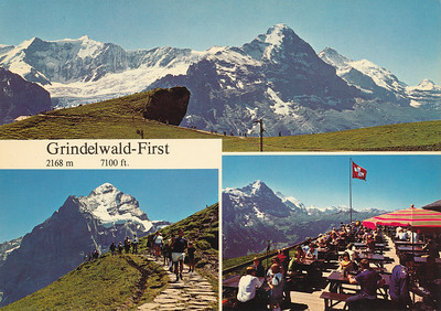 Views from Grindelwald-First