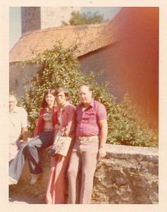 Harvey, Michele, Louise, C.H. in Rothenburg