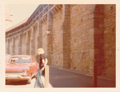 Part of City Wall--Rothenburg (we walked part of it)