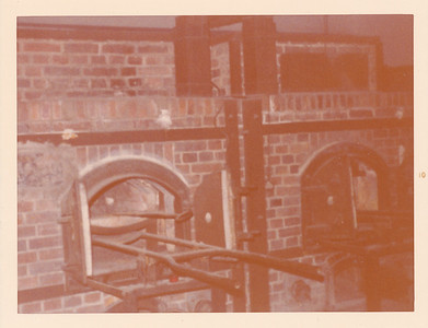 Dachau Prinson Camp--some of the ovens used to cremate prisoners--gruesome!