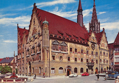 Ulm Cathedral on the Danube River
