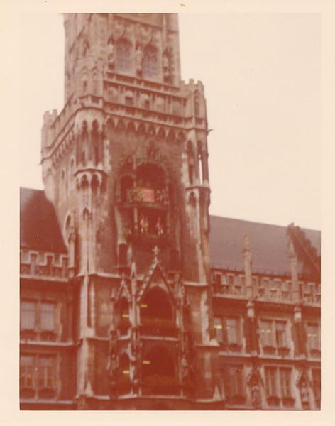 Glockenspiel in Town Hall, Munich, Germany