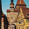 Rothenburg--Markusturm Hotel and St. Marks Tower