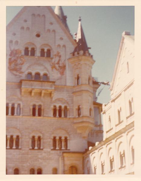 Part of Neuschwanstein Castle