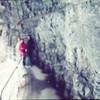 Walking through the Glacier Gorge, Grindelwald