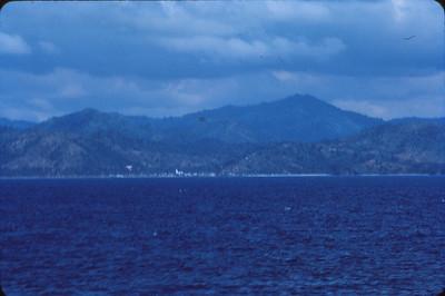 Haiti-Santo Domingo coastline
