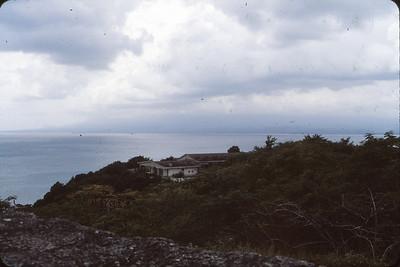Overlooking Caribbean