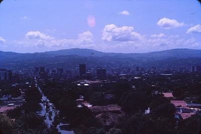 Birdseye view of Caracas