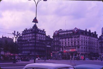 A Brussels street scene