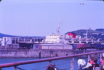 Ferry at Dover Marina