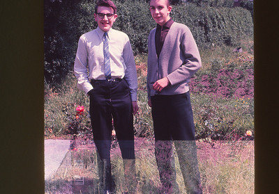 David and Glyn Maidment in Leeds
