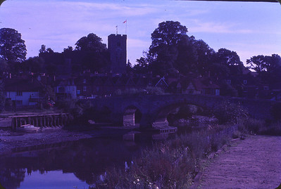 12th Century castle and bridge in Maidstone