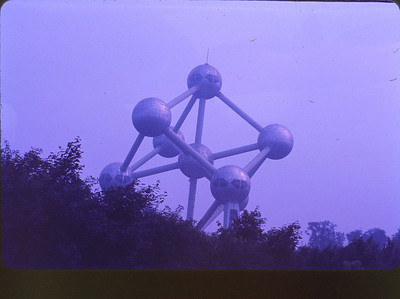 Atomium from Brussels Worlds Fair