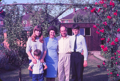 Mair, Ron, and their children