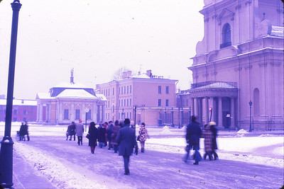 Visiting Peter and Paul Fortress