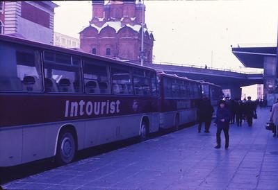 Our Intourist bus