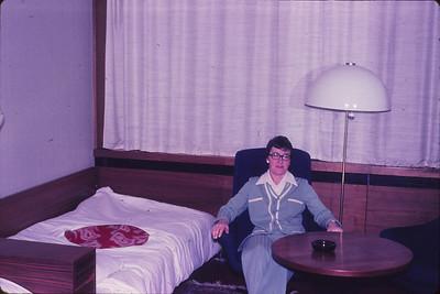In our Leningrad Hotel room