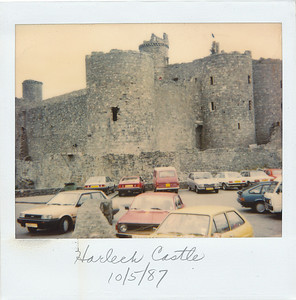 Harlech Castle, northern WalesS