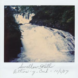 Swallow Falls in Betws-y-Coed