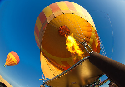 Balloon ride over Masai Mara NP