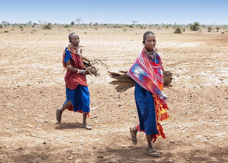 Masai women, Amboseli NP