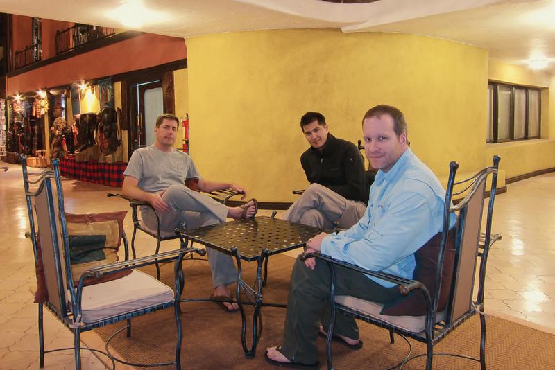 Guys at Sopa Lodge in Serengeti