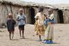 Masai children in Masai village, Amboseli NP