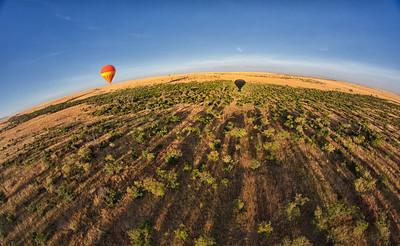 Masai Mara sunrise ride
