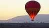 Balloon at sunrise, Masai Mara