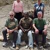 Linda, Sarah, Ken, James (our safari guide) and John