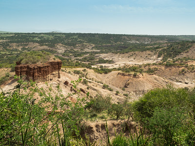 Oldupai Gorge and Shifting Sand Dune