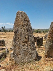 Tiya contains 36 monuments, including 32 carved stelae (an upright stone or slab with an inscribed or sculptured surface, used as a monument) most of which are difficult to decipher. They are the remains of an ancient Ethiopian culture whose age has not yet been precisely determined.