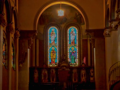 Interior of the Holy Trinity Cathedral