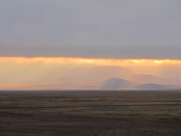 Ngorogoro Crater, at dawn