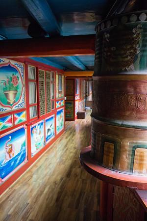 Inside a Tibetan home in Sichuan China's Jiuzhaigou National Park.