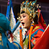 A Sichuan Opera singer performing at a show in Chengdu, China.