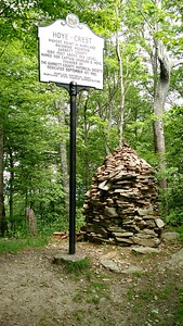 Hoye Crest on Backbone Mountain - High Point of Maryland