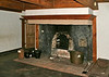 Jean Hasbrouck house ~ Dutch fireplace (fire was right in the room; dangerous)