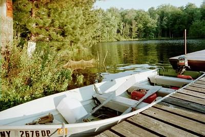 kickerboat, Cranberry Lake, NY