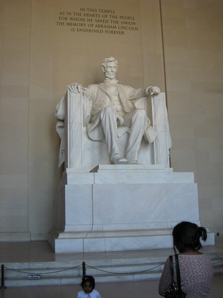 Honest Abe himself.
