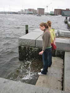 Susie's Atlantic Ocean splash
