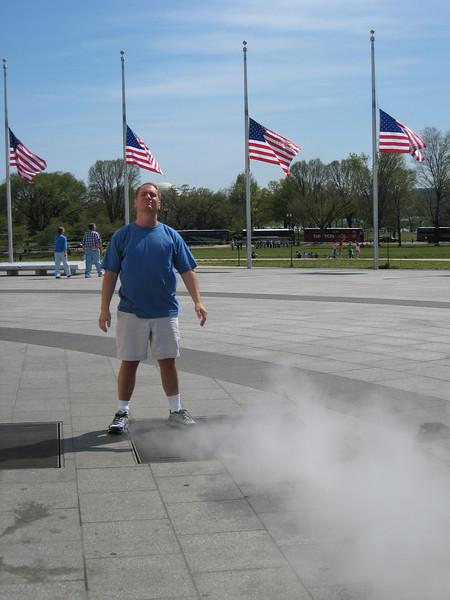 That steam was hot.