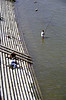 Fishing in the River Danube Budapest